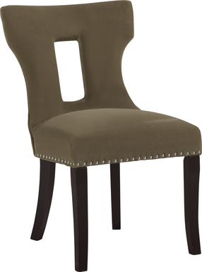 Andalasia Brown Side Chair