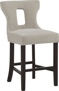Andalasia Cream Counter Height Stool