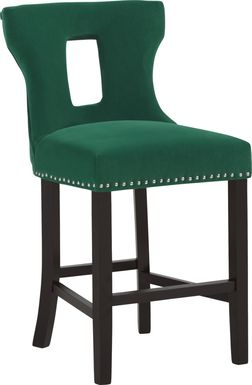 Andalasia Green Counter Height Stool