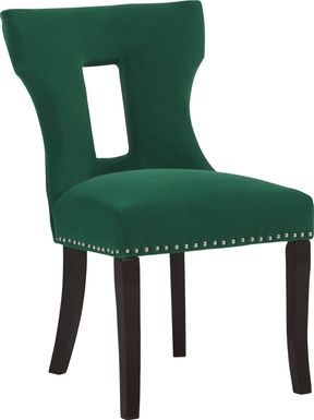 Andalasia Green Side Chair