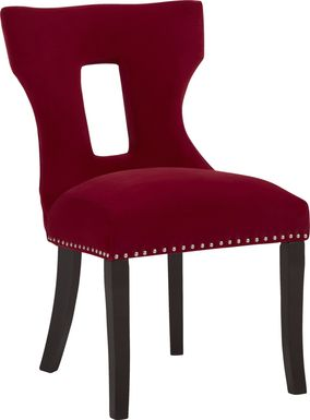 Andalasia Red Side Chair