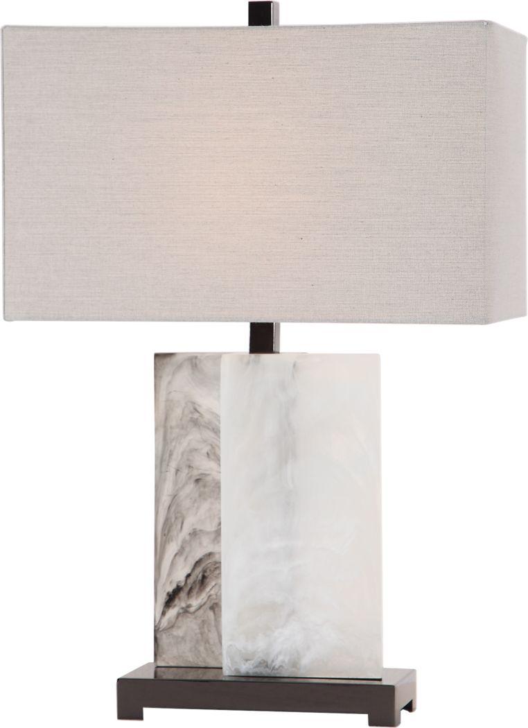 Andea Cay White Lamp