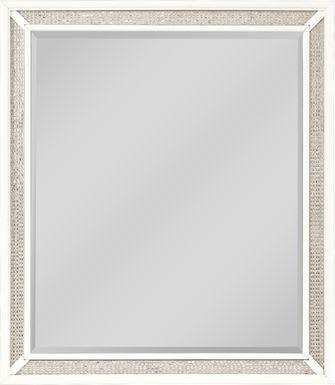 Angelique White Mirror