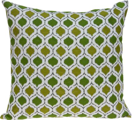 Anzor Green Accent Pillow
