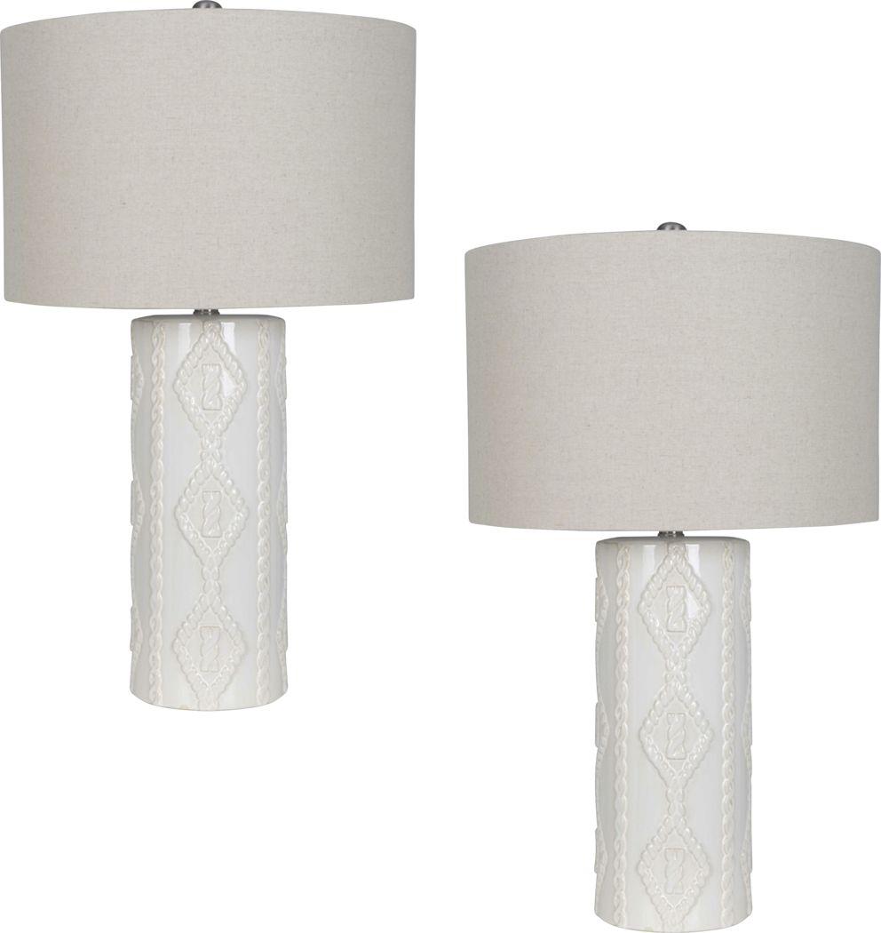 Appin Lane Beige Lamp, Set of 2