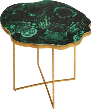 Appomattox Green Accent Table
