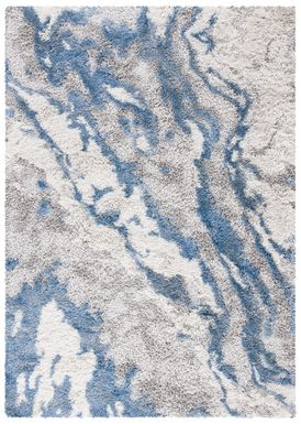 Aquatica Blue 8' x 10' Rug