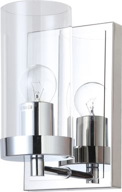 Arcata Bay Chrome Sconce
