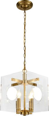 Archer Garden Gold Chandelier
