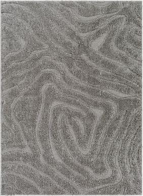 Ardenne Charcoal 5'3 x 7'3 Rug