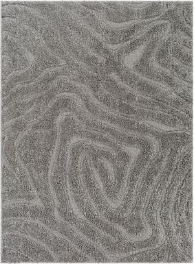Ardenne Charcoal 6' x 7'9 Rug
