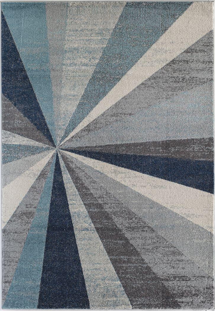 Aretta Blue 5' x 7' Rug