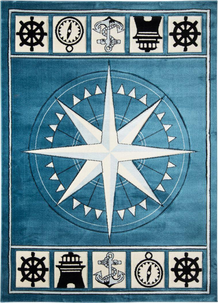 Argelia Blue 5' x 7'3 Rug