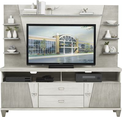 Argento Gray 2 Pc Wall Unit