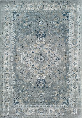 Ariyan 8' x 10' Blue Rug