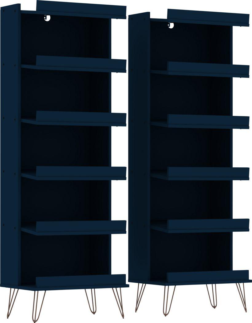 Arkose Blue 2 Pc Accent Cabinet