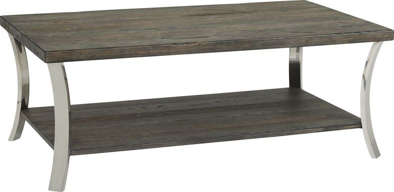 Arland Brown Rectangular Cocktail Table