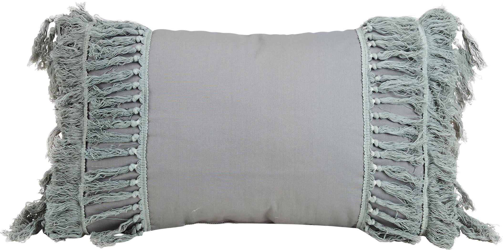 Arlesia Gray Decorative Pillow