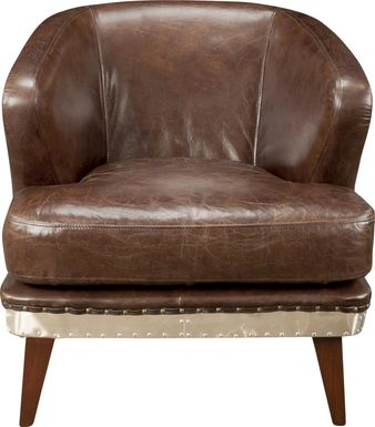 Arly Brown Accent Chair