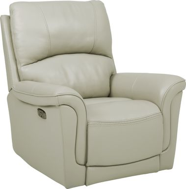 Armano Stone Triple Power Leather Recliner