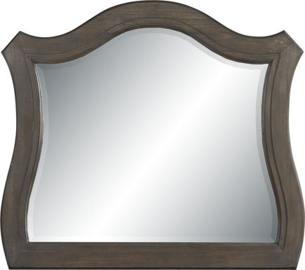 Armitage Dark Brown Mirror