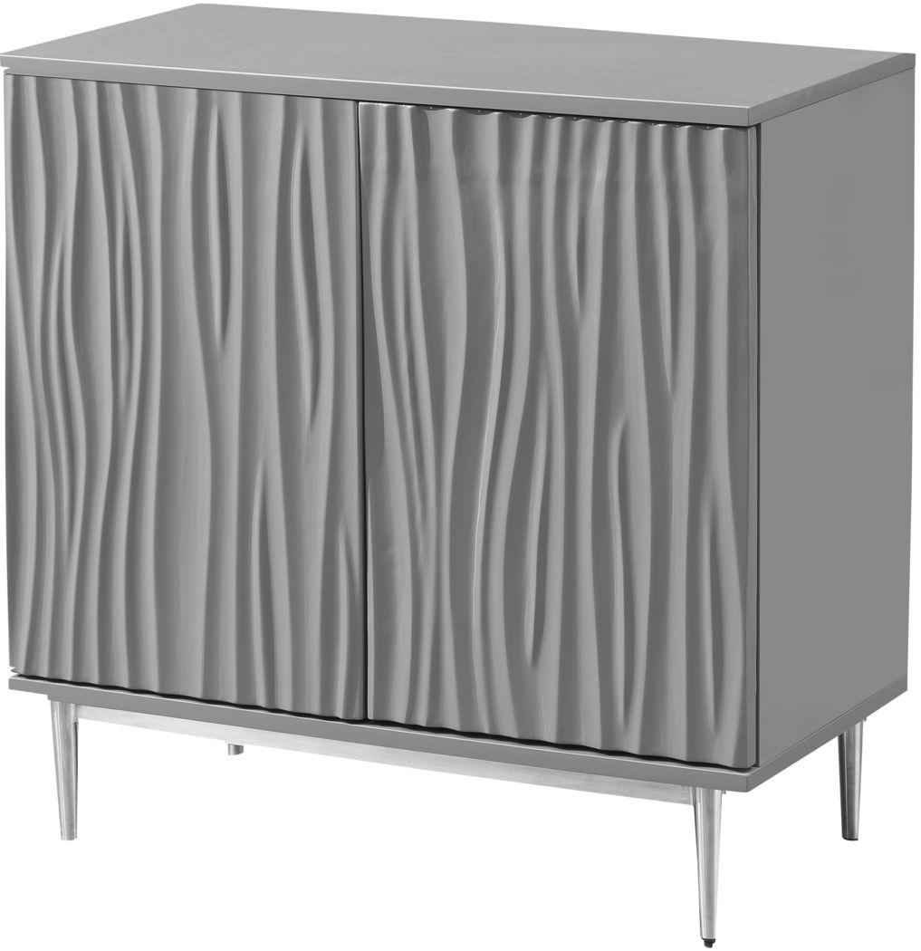 Arrowrock Gray Accent Cabinet