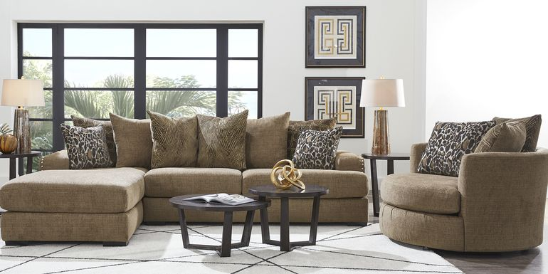 Arroyo Brown 2 Pc Sectional