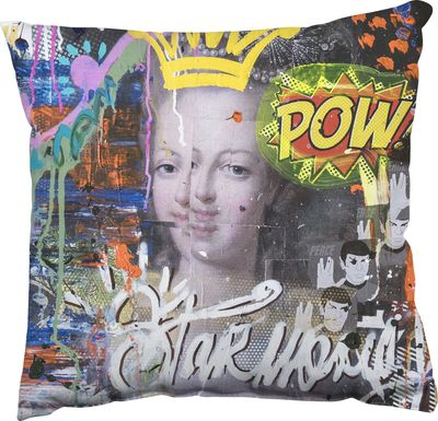 Art Queen Multi Accent Pillow