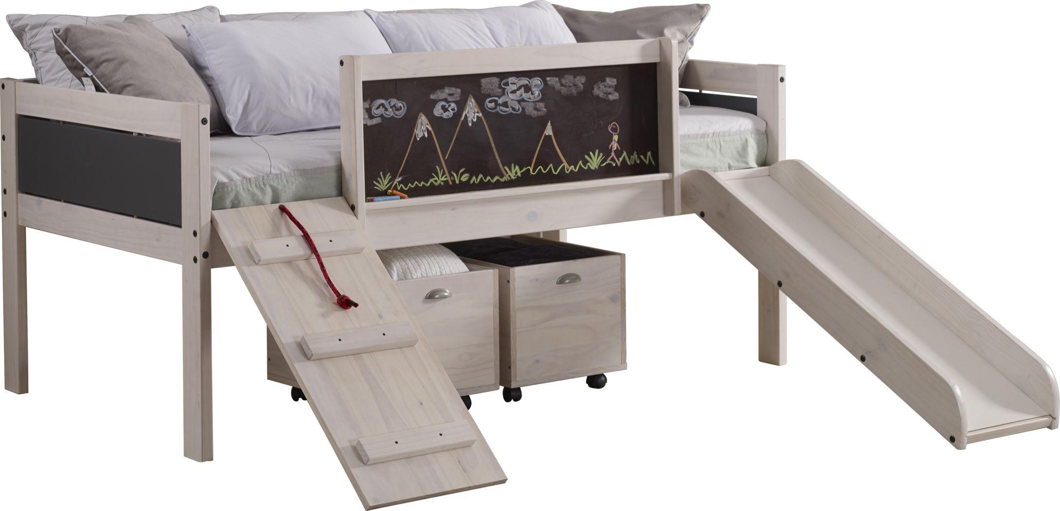 Artspace White Twin Jr. Loft Bed