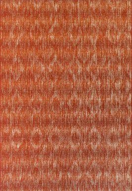 Ashland Heights Red 8'2 x 10' Indoor/Outdoor Rug