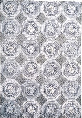 Ashling White 8' x 11' Rug