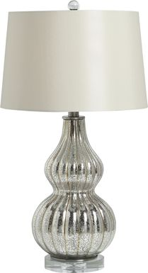 Asterion Silver Lamp