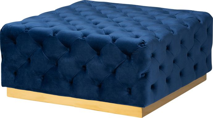 Astro Way Blue Cocktail Ottoman