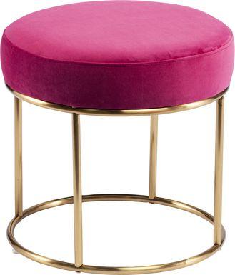 Atdoann Pink Ottoman