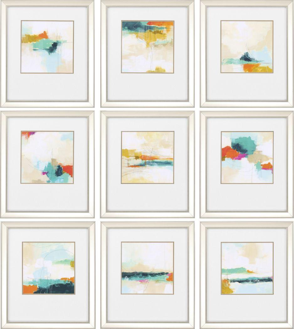 Atmospheric Set of 9 Artwork