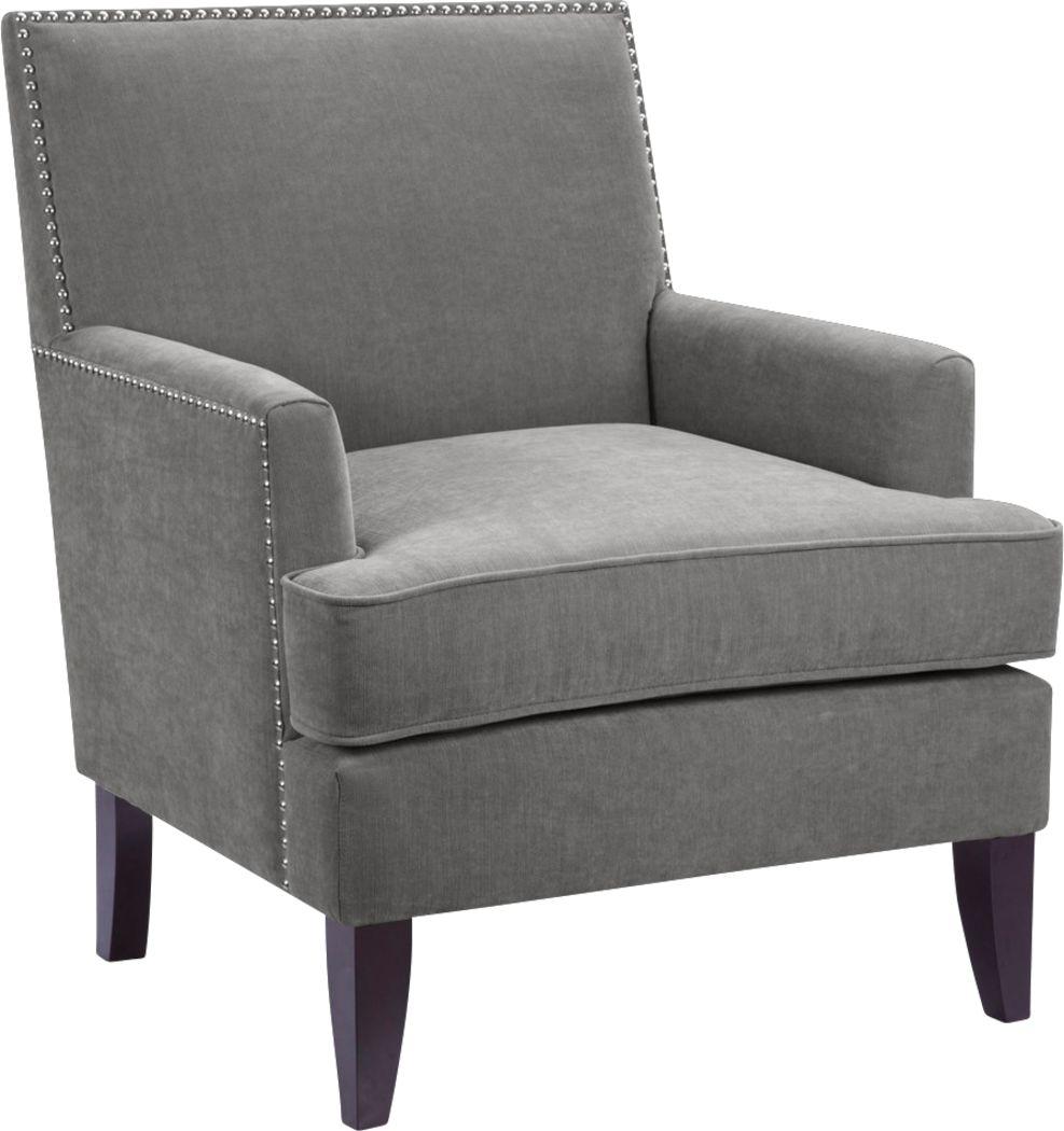 Aubinwood Gray Accent Chair