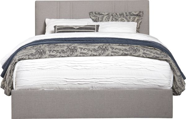 Aubrielle Sand 3 Pc King Upholstered Bed