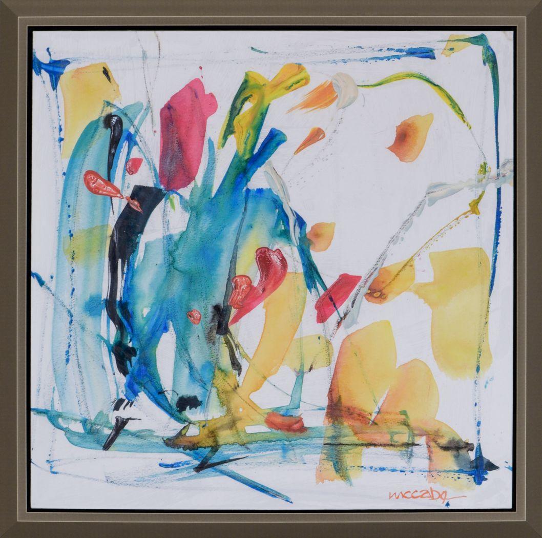 Auriel III Yellow Artwork