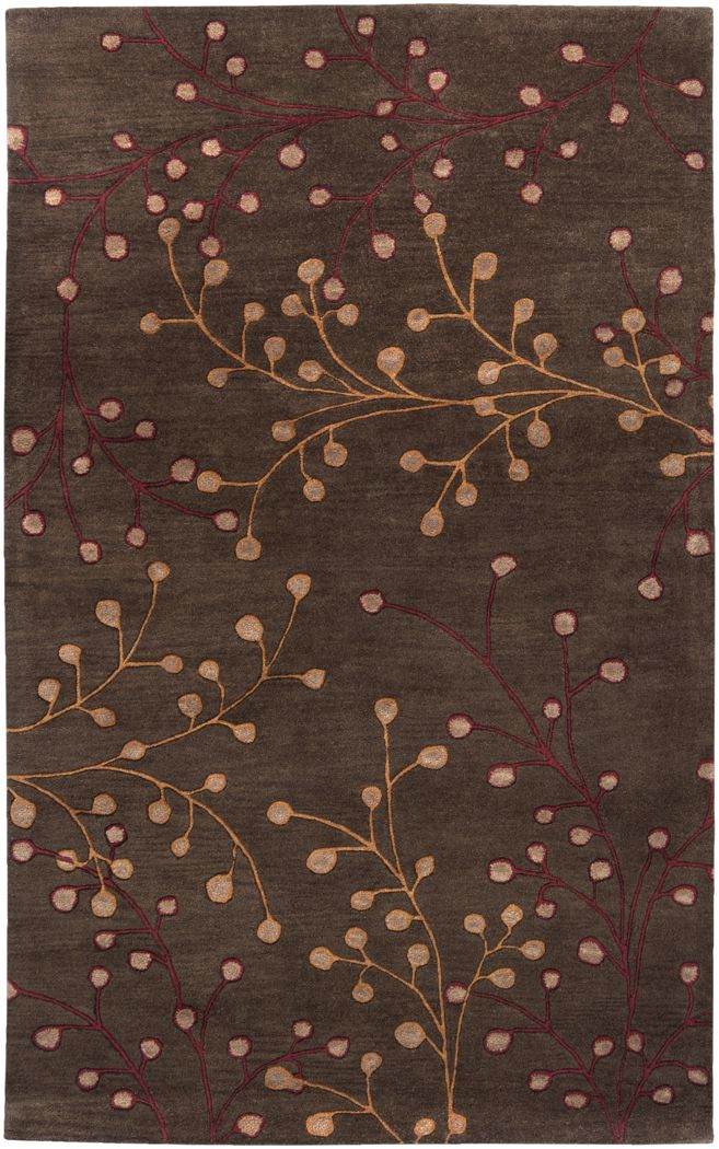 Autumn Brown 5 x 8 Rug