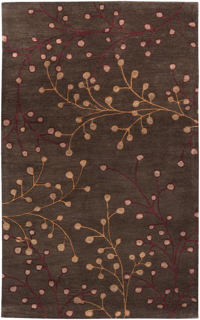 Autumn Brown 8 x 11 Rug