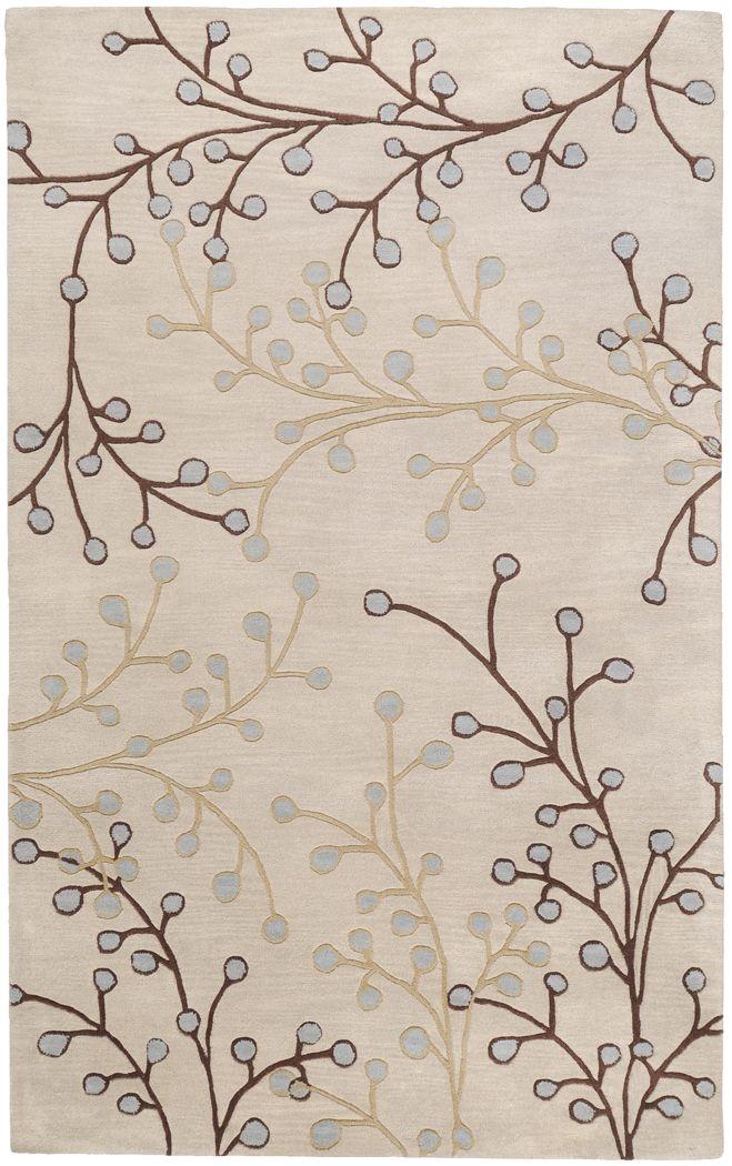 Autumn Ivory 8 x 11 Rug
