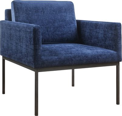 Avdel Navy Accent Chair