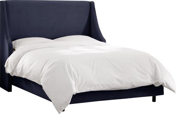 Aviana Navy Queen Bed