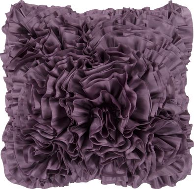 Aviena Purple Accent Pillow