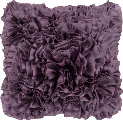 Aviena Purple Accent Pillow