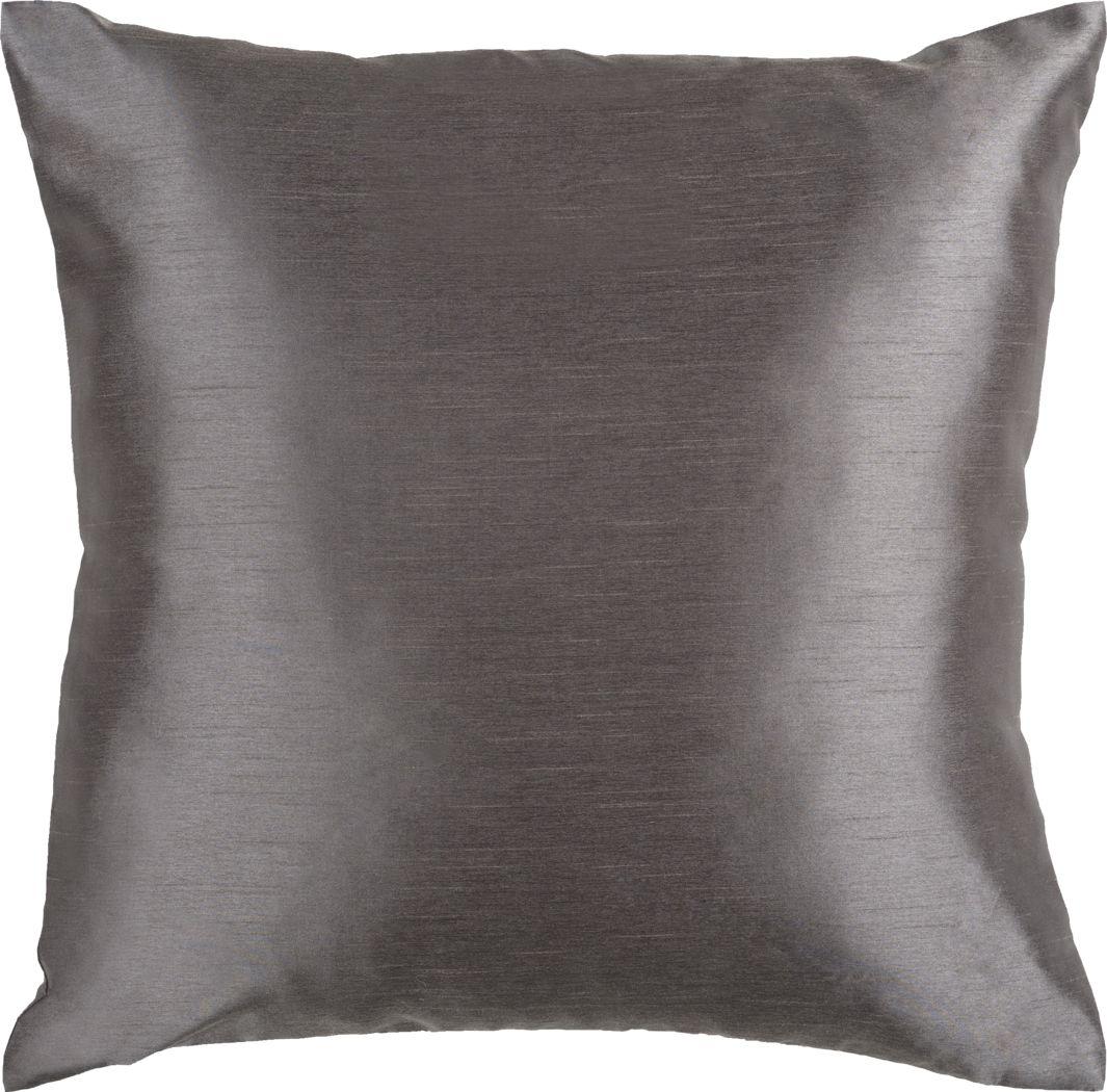Avin Charcoal Accent Pillow
