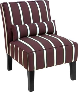 Avonte Brown Accent Chair