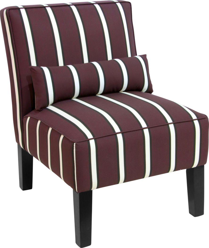 Avonte Brown Accent Chair