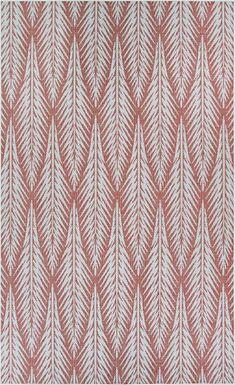 Ayandra Red 7'6 x 10'9 Indoor/Outdoor Rug