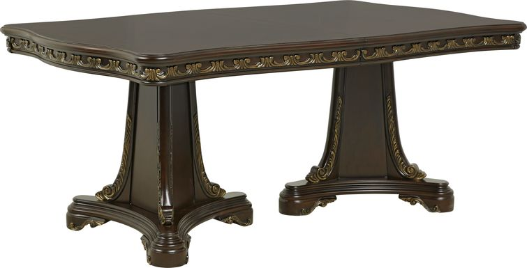 Aylesbury Brown Cherry Rectangle Dining Table